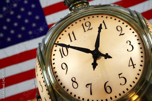 Grand Central Terminal Clock (New York City). Canvas Print