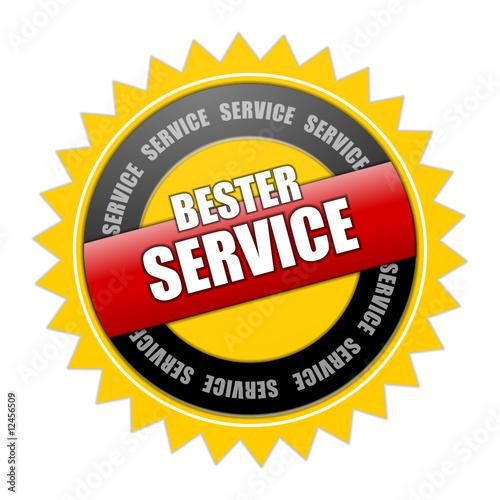 Obraz na plátně bester service plakette