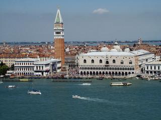 Panel Szklany Podświetlane Wenecja panorama Wenecji