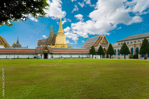 Gold palace in Bangkok