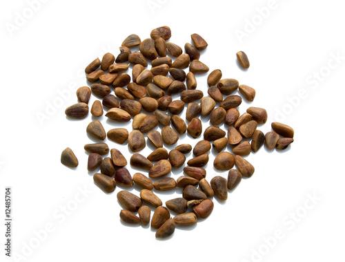 Wall Murals Coffee beans Cedar nuts