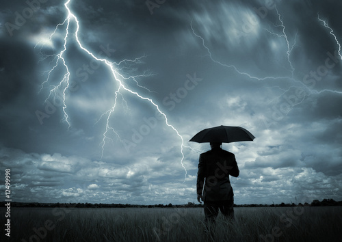 Fotografie, Obraz  Caught in the Storm
