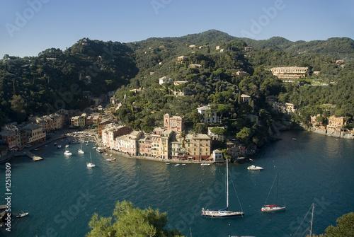 Fotobehang Liguria view of Portofino,Liguria,Italy