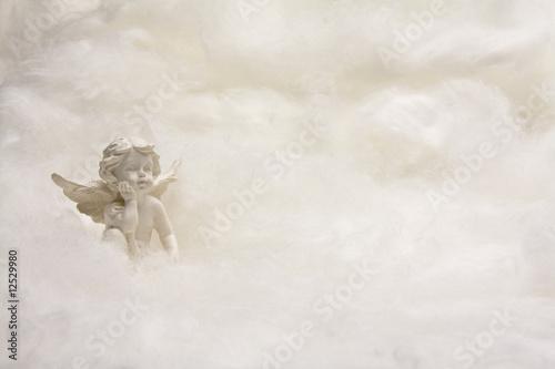 engel in den wolken Poster