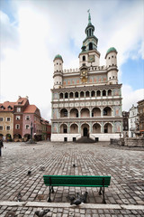 stary ratusz w Poznaniu