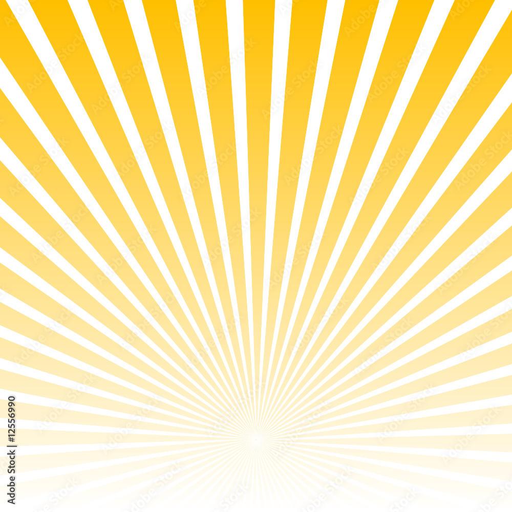 Fototapety, obrazy: Sunburst vector