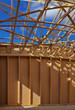 Stitched Panorama de la charpente