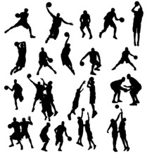 Basketball Silhouettes Collect...