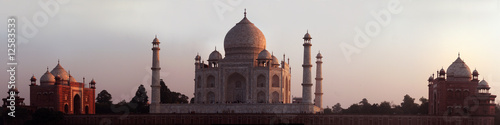 Spoed Foto op Canvas India Oreintal Sunset