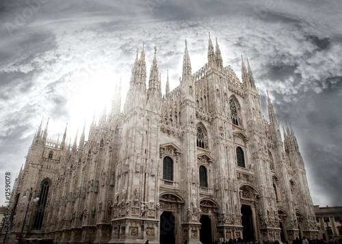 Fotobehang Milan milano