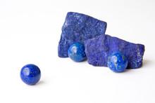 Rich Blue Lapis Lazuli Spheres...