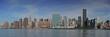 New York City panoramic- Brooklyn and Manhattan Bridge