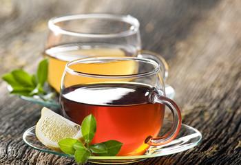 Panel Szklany Do herbaciarni tea