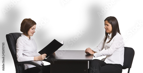 Valokuva  Business interview