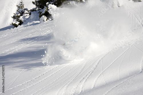 Schneewolke Fototapete