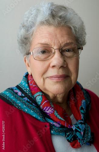 Fototapety, obrazy: Senior Woman
