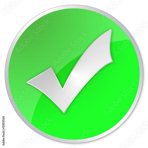 Fototapeta Vista style green right icon obraz na płótnie