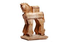 Troyan Horse Bibelot Figurine