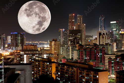 Moon Night City
