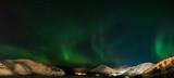 Fototapeta Na ścianę - Panorama of Aurora polaris