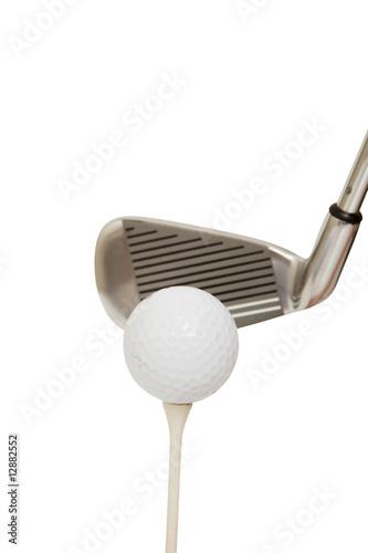Fototapety, obrazy: golf club and ball