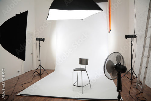 Obraz interior of photographic studio - fototapety do salonu