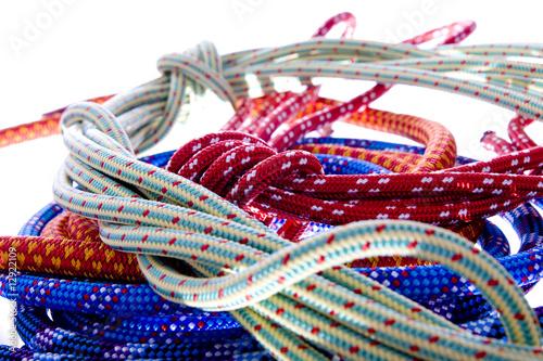 Foto op Aluminium Afrika Climbing rope