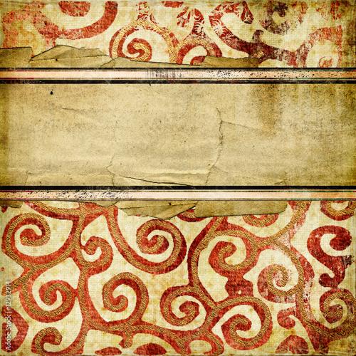 Papiers peints Affiche vintage decorative vintage paper