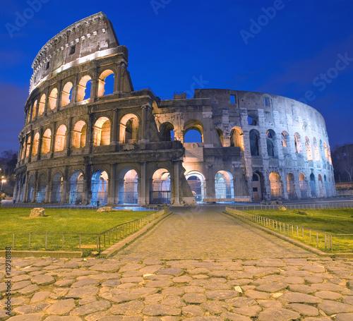 Colosseum, Rome, Italy Fotobehang