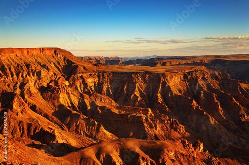 Fotografie, Obraz  Fish River canyon