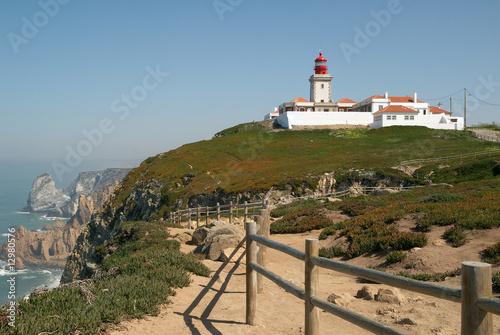 Foto auf AluDibond Himmelblau Cabo da Roca - Portugal.
