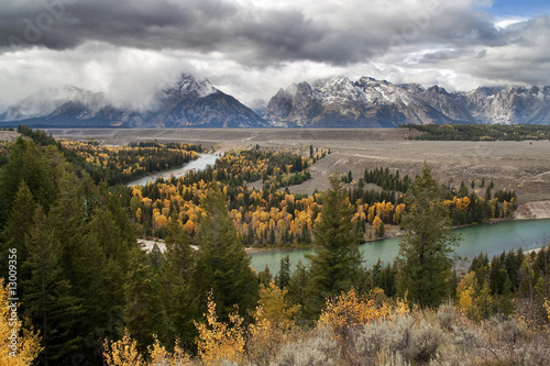 Photo  Clearing Storm at Snake River Overlook