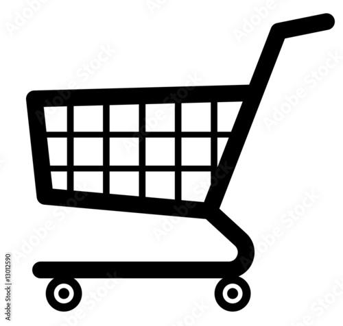 Fotografija  Shopping cart icon (Vector)