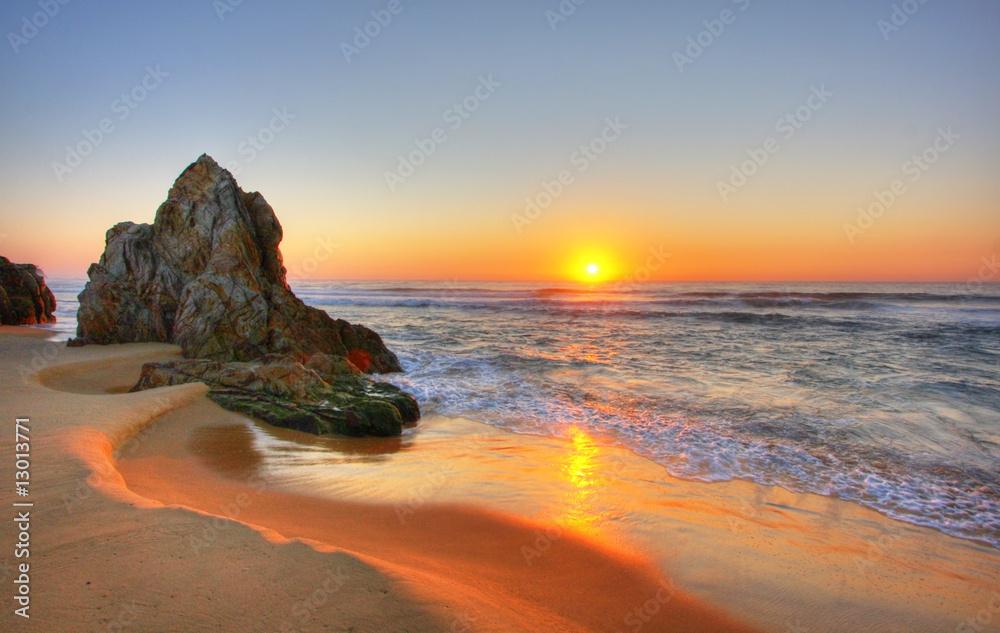 Fototapety, obrazy: Sunrise Rocks