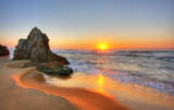 Fototapeta Landscape - Sunrise Rocks