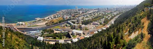 Fotobehang Midden Oosten Haifa panorama