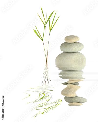 Fotografía  Zen Garden Tranquility