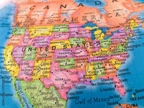 Staande foto Oost Europa Global Studies - United States