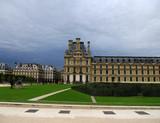 Fototapeta Fototapety Paryż - ogrody luwr
