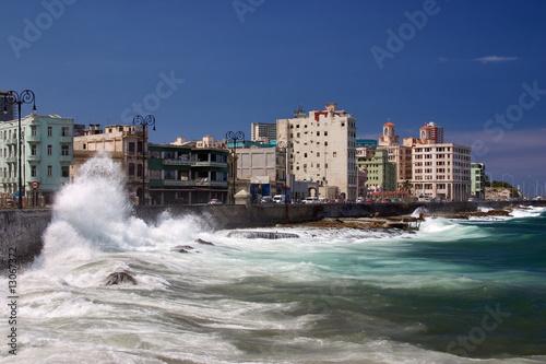 Fotobehang Havana El Malecón, Havanna