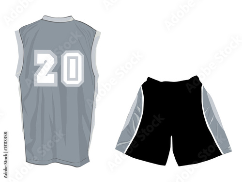 White Tank Top Design Template With Front And Back Buy This Stock