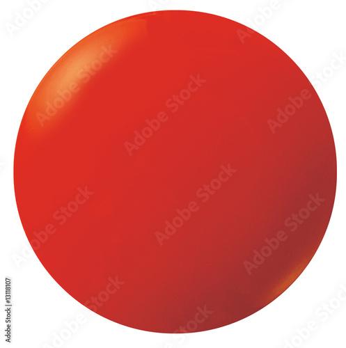 In de dag Bol red button