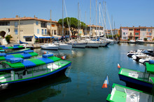 Port De Grimaud En France