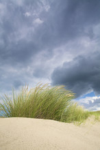 Dunes Near The Sea With Storm ...