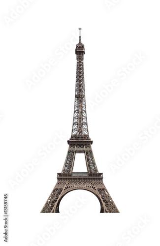 Foto op Aluminium Eiffeltoren tour eiffel détourée