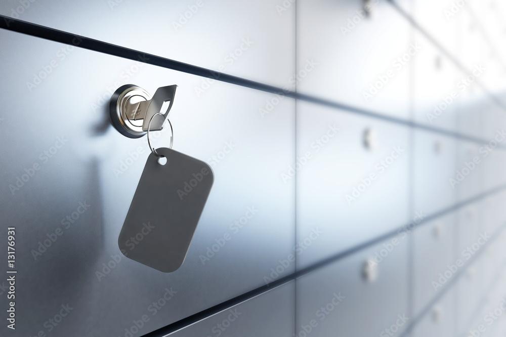 Fototapeta Safe bank
