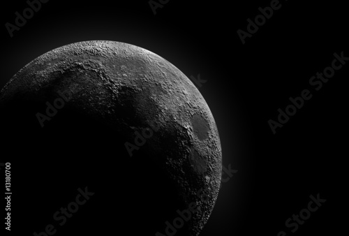 Moon Shadow Wallpaper Mural