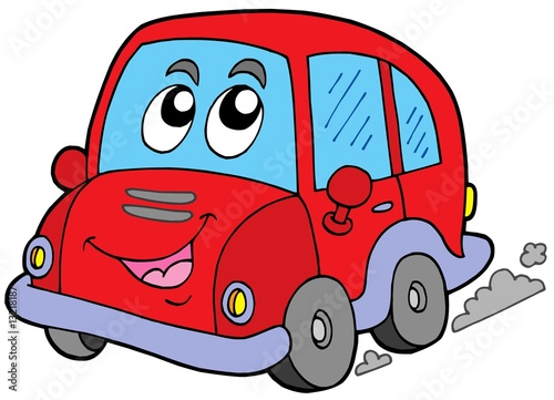 Papiers peints Cartoon voitures Cartoon car