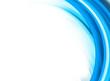 Artistic Background blau/weis