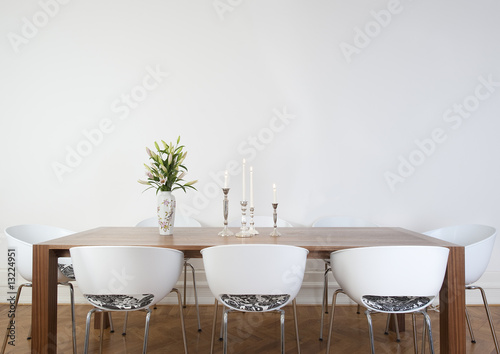 Fotografie, Obraz  Modern dining room